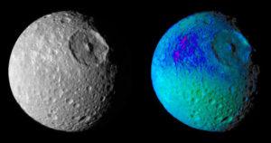 hexagonal craters irregular polygons moons