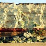 Hunstanton cliffs layers strata norfolk