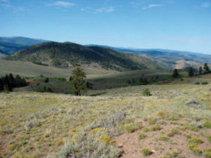 iron hill Gunnison County, Colorado USA