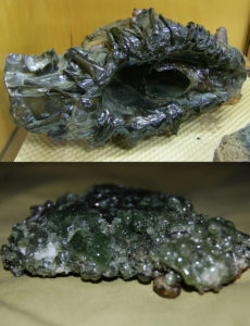 electrochemical geology lightning meteorite glass