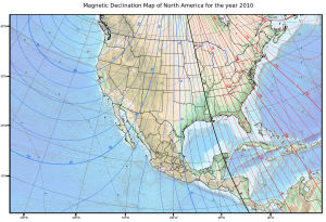 magnetic declination map north america