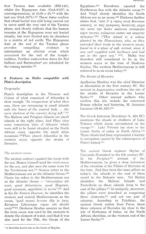 Malta Echoes of Plato's Island where what when Atlantis theories alternative ideas sites