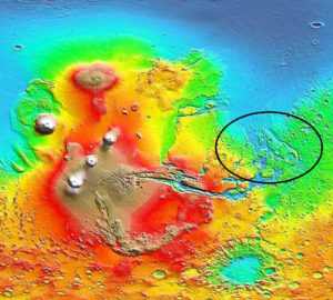 Mars ocean tsunami alternative theories