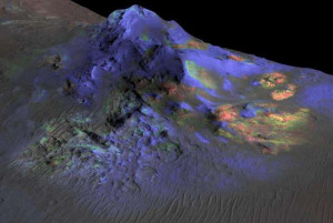martian glass mars impact crater discharge electric universe