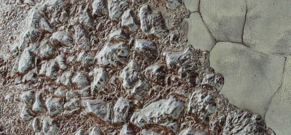 mountains on planets moons solar system formation how when why where