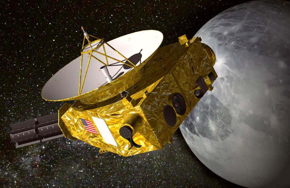 New Horizons mission to Icy Kuiper Belt Objects kbo