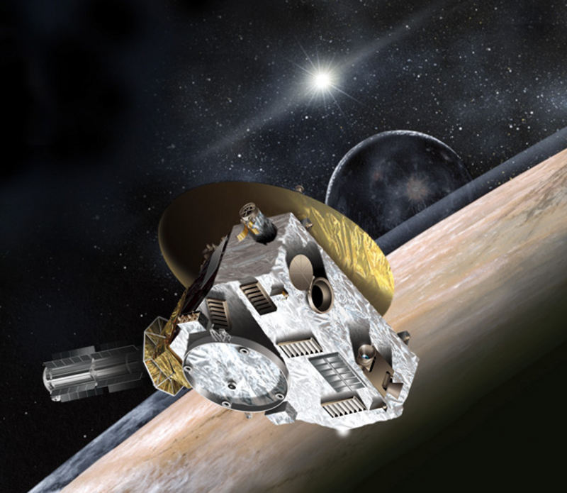 new horizons spacecraft mission nasa pluto charon