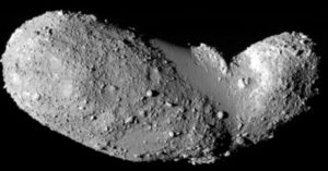 non active asteroid itokawa