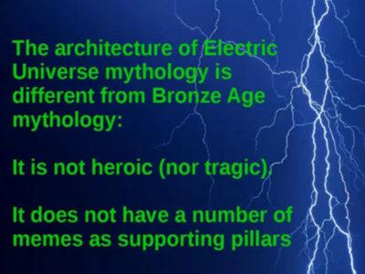Paradigm Shift: Bronze Age Mythology to Electric Universe David Avery EU theory video plams