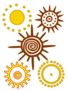 petroglyphs sun dots circles cup rings spiral rays plasma electric universe theory