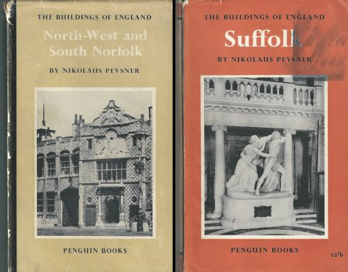 Buildings of England books by Nikolaus Pevsner