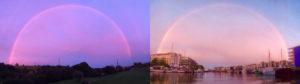 pink rainbow rainbows