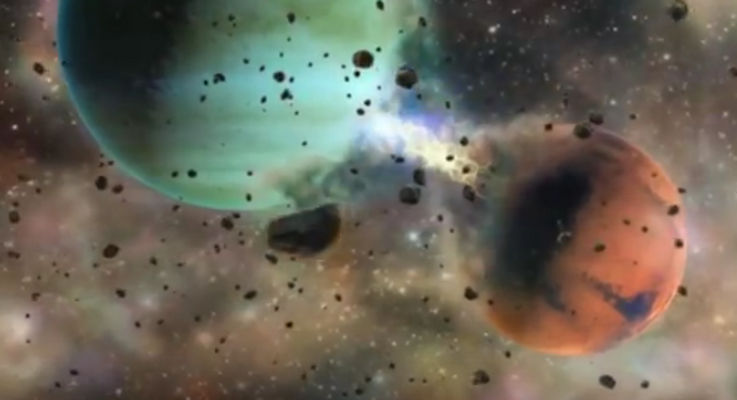 planet formation planetary moons asteroids comets electric universe theory