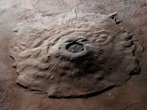planetary geomorphology mars pluto shield volcanoes olympus mons