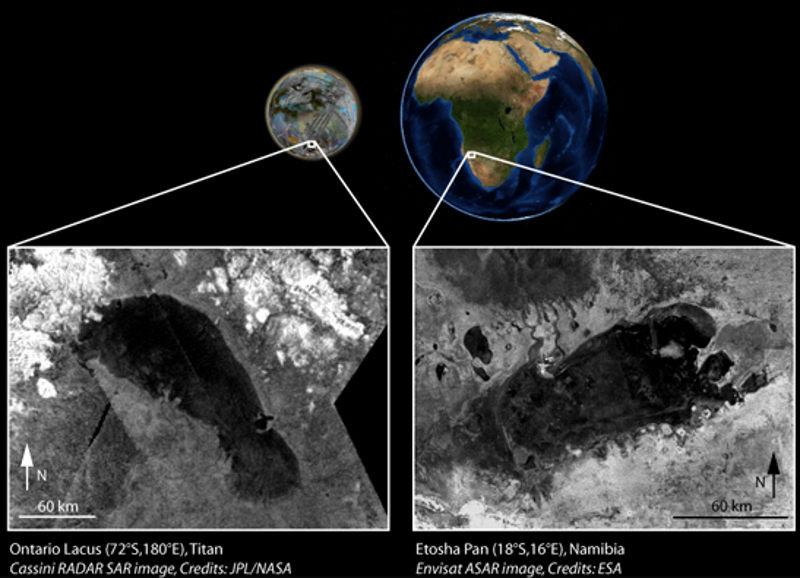 planetary geomorphology theory titan earth