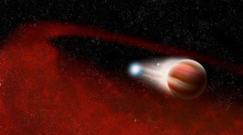 Saturn System Evidence Wandering Star And Brown Dwarf