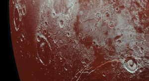 pluto craters