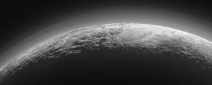 Pluto atmosphere fog haze layers