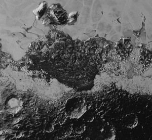 pluto dunes ridges geomorphology geology
