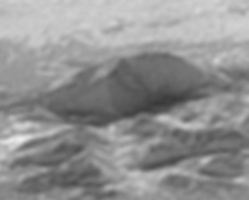 Pluto mountains ridges geomorphology aretes