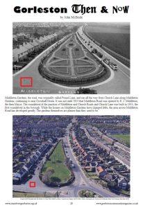 Pound Lane and Middleton Gardens Gorleston-On-Sea's pinfold