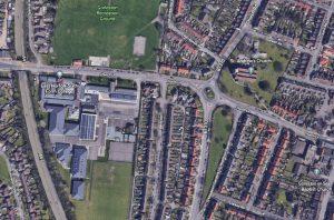 The old location of Pound Lane, Gorleston-On-Sea, Norfolk