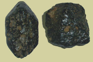 Red Mountain pyroxene and amphibole minerals cinder cone