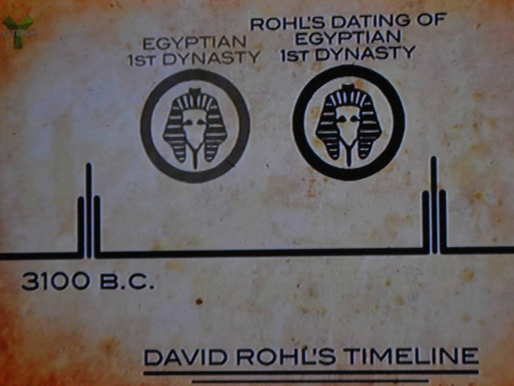 David Rohl new Egyptian chronology