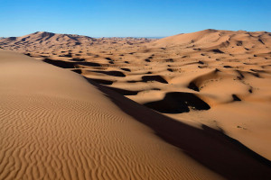 Origin of Sahara sand and desert formation Earth