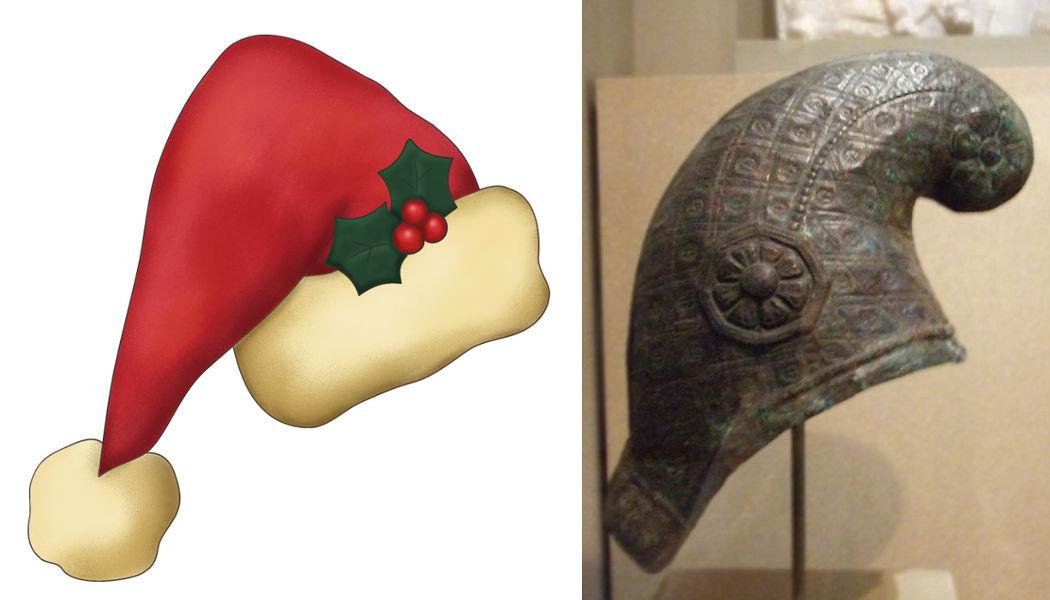 saturnalia hat cap helmet christmas mythology