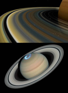 Saturn Rings Saturns age young how old