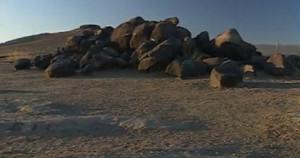 Singing Stones Altai Qiemuerqieke Cemeteries meteorites natural rock