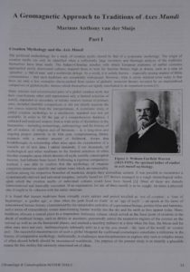 Chronology & Catastrophism Review Society for Interdisciplinary Studies anthony peratt