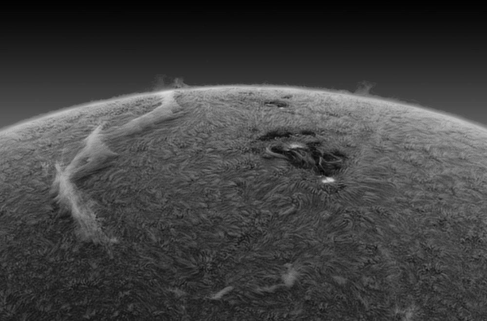 solar magnetic filament