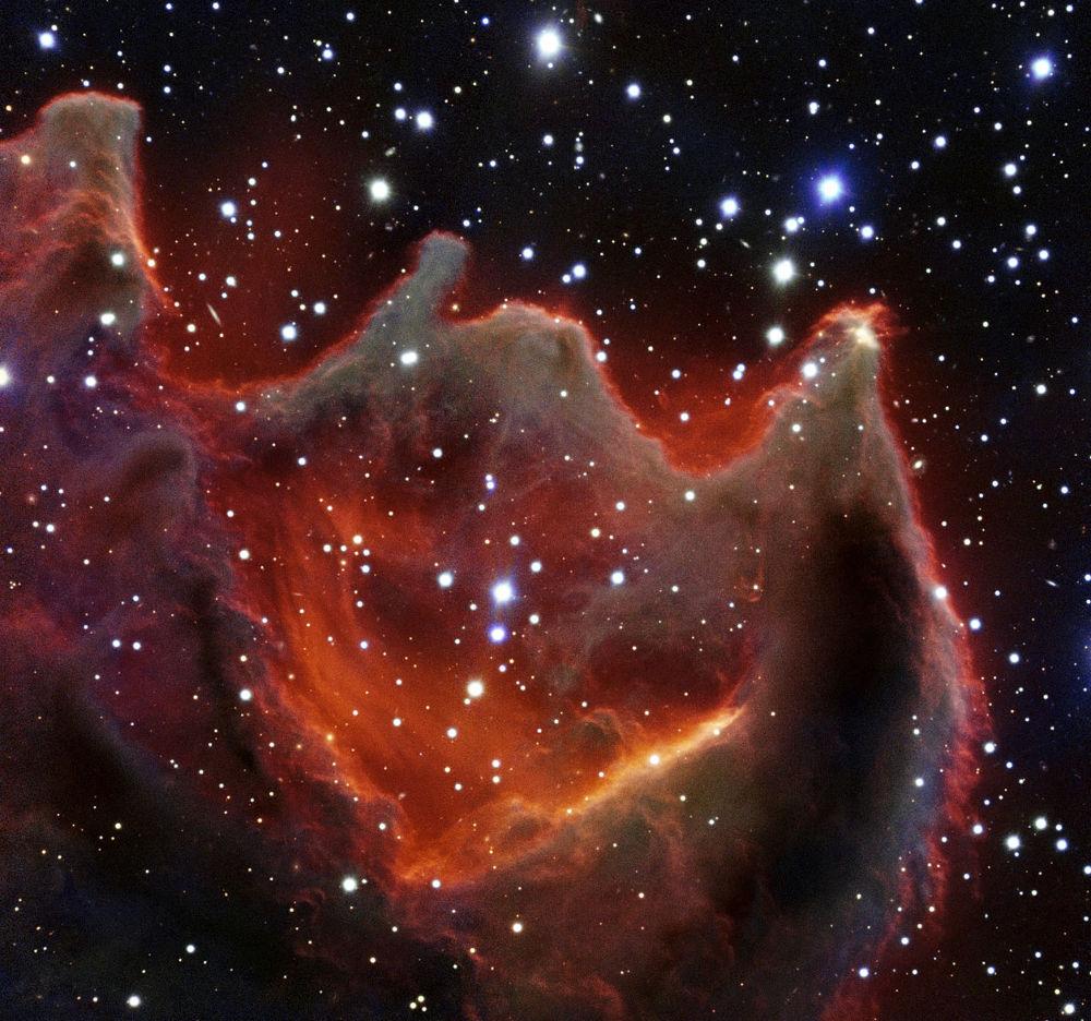 Electric Cometary Globules Ionised Gas Plasma