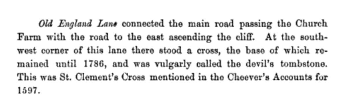 St Clements Cross