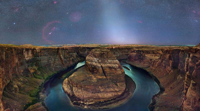 steves zodiacal light Jupiter dust