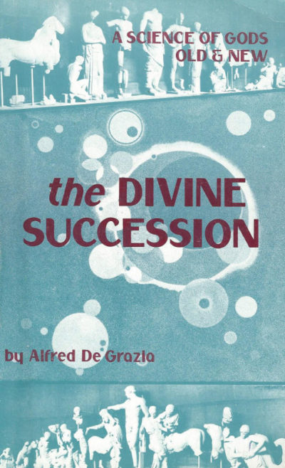 the Divine Succession Alfred de Grazia books ebooks mythology
