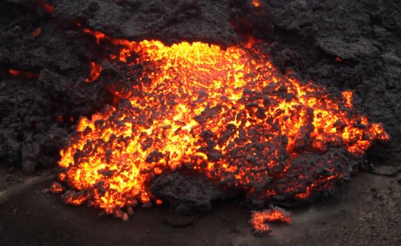volcano dykes iceland lava iceland