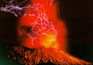 volcano heat origin theory asthenosphere