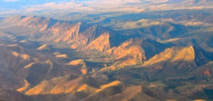 Wilpena Pound flying buttress