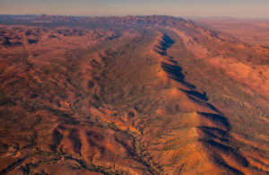 Wilpena Pound geology sound waves