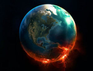 Worlds in Collision Earth planet hitting catastrophe Immanuel Velikovsky