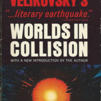 Worlds in Collision Immanuel Velikovsky book cover