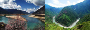 yarlung tsangpo valley gorge south tibet
