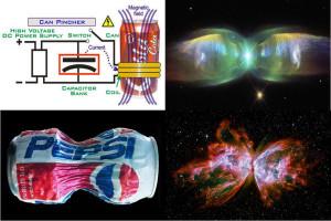 z pinch nebula space butterfly plasma Electric Universe theory