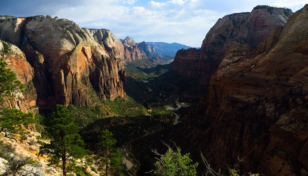 zion canyon geology mystery