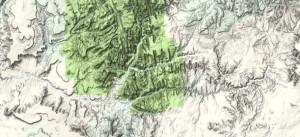 Zion Canyon Zion National Park USA geology