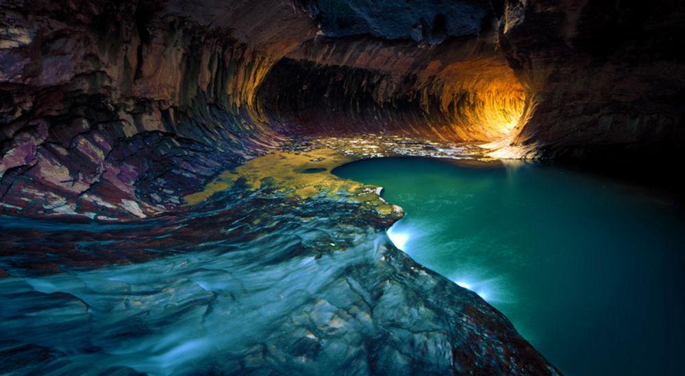 The Zion Subway Zion Canyon